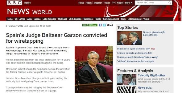 Captura de pantalla de la BBC News.