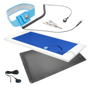 Complete ESD Mat Kit in Dark Blue