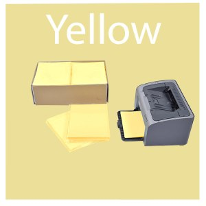 Yellow Elimstat Cleanroom Paper