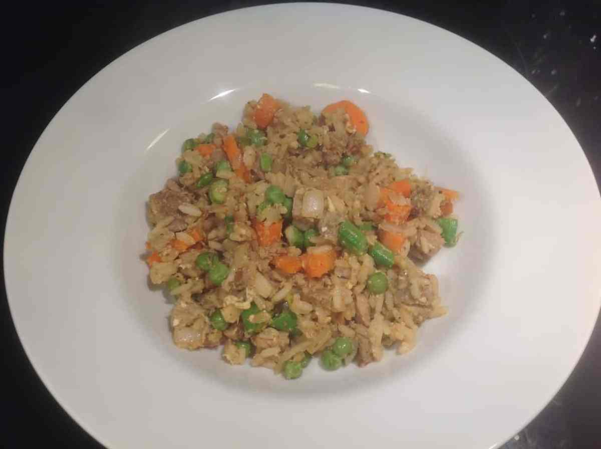 Porchetta Fried Rice (a dinner reboot)
