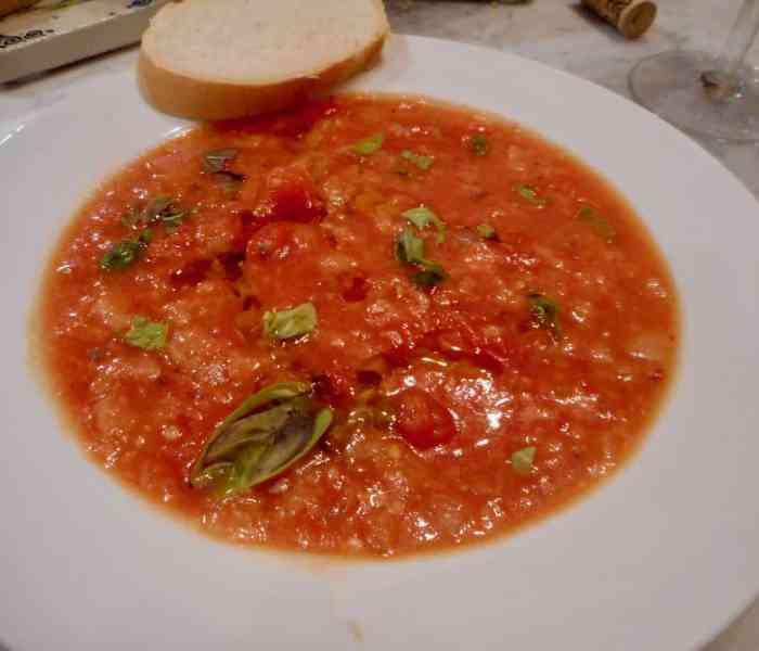 Tuscan Tomato Soup (Pappa al Pomodoro)