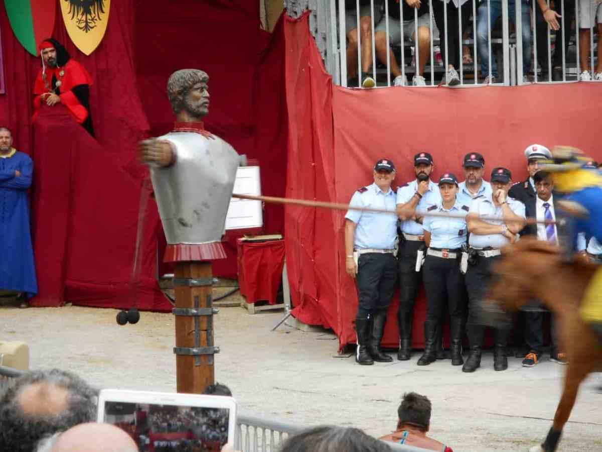 La Giostra del Saracino (Arezzo Jousting Match)