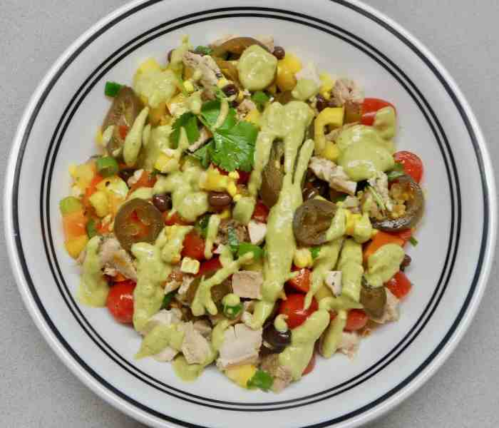 Southwest Chicken Chop Salad (a reboot)