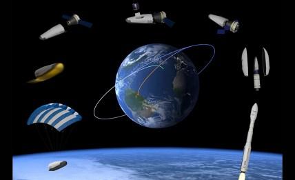 Space Riderrek eginen duen ibilbidearen simulazioa (Iturria: ESA)