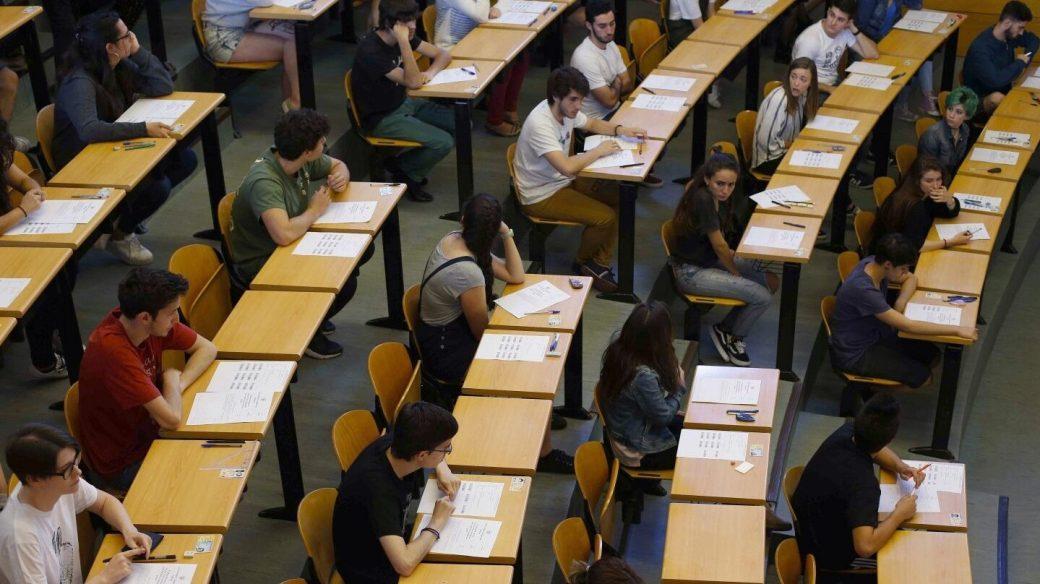 Examen de Selectividad en la Complutense.