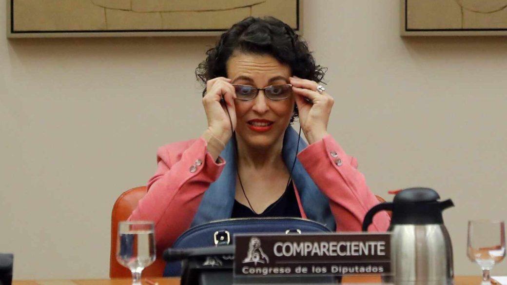 La ministra de Trabajo, Migraciones y Seguridad Social, Magdalena Valerio, comparece esta tarde en la Comisión de Empleo del Congreso para exponer las líneas políticas de actuación de su departamento