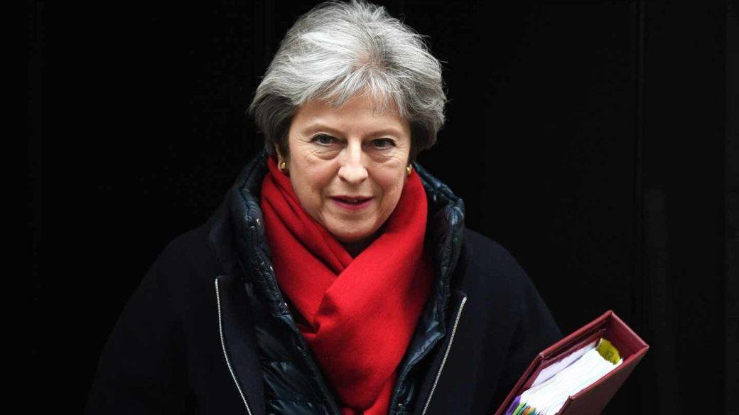 Theresa May, primea ministra británica, vive hoy una jornada clave para el Brexit y su futuro.