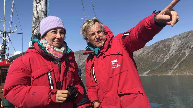 """Ana Botín, con Jesús Calleja: """"Yo sé lo que voy a hacer cada semana en los próximos tres años"""""""