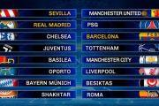 Sorteo de Champions: PSG-Real Madrid y Barcelona-Chelsea serán los duelos más atractivos