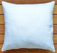 "Pure Linen 18"" White Euro Pillow Cushion Cover Throw"