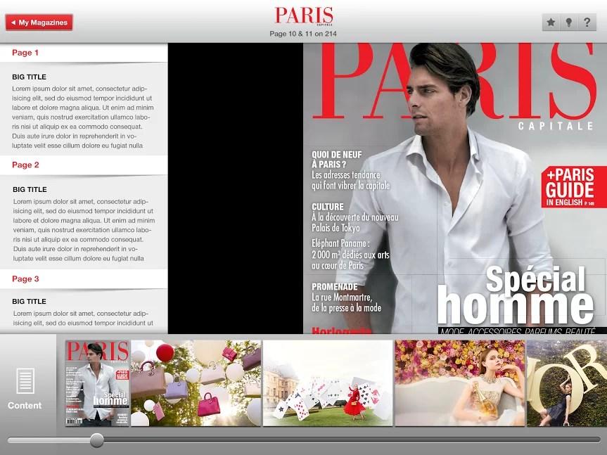 Paris Capitale Magazine  Elinext Case Studies