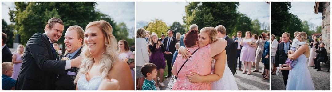 Bröllop i Länna Kyrka