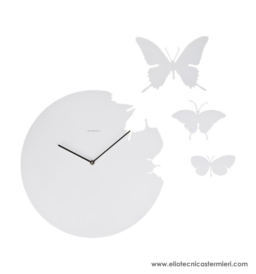 DIAMANTINI  DOMENICONI Orologio da parete Butterfly