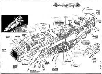 Eliot R Brown » Blog Archive » Icarus Spaceship Story