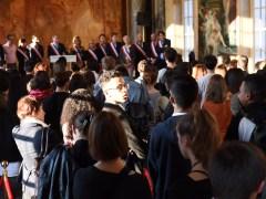 Jean-Luc Moudenc et l'équipe municipale de Toulouse accueillent les nouveaux inscrits sur les listes éléctorales
