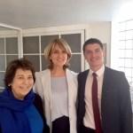 Avec Corinne Lepage et Mickael Nogal à Toulouse