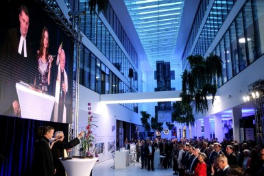 Eröffnung Promenaden Galerien