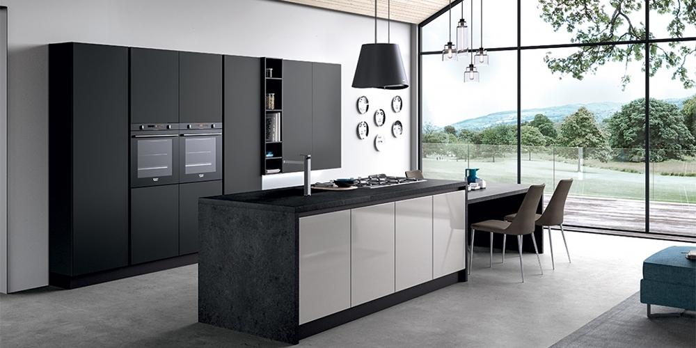 Konyhabtorok  Olasz modern konyhk  Glass modern magasfny konyha
