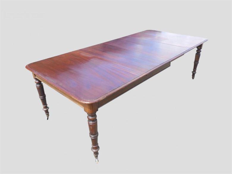 Long Narrow Regency Antique Dining Table