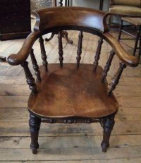 ANTIQUE FURNITURE WAREHOUSE - Antique Captains Chair ...