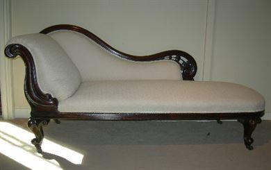 ANTIQUE FURNITURE WAREHOUSE Antique Chaise Longue Mid
