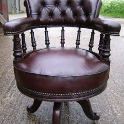 Revolving Desk Chair Wheel Dealers In Coimbatore Antique Furniture Warehouse - Late 19th Century Mahogany And Leather ...