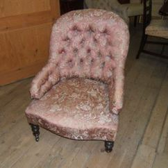 Revolving Desk Chair Cheap Chairs For Sale Antique Furniture Warehouse - Nursing Victorian Button Backed Walnut
