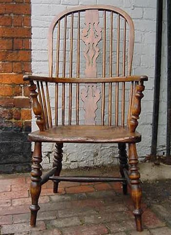 ANTIQUE FURNITURE WAREHOUSE  Antique Windsor Chair