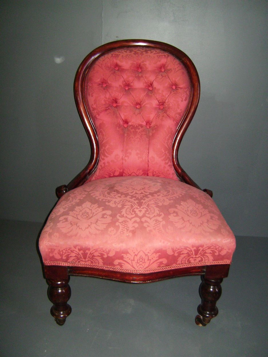 ANTIQUE FURNITURE WAREHOUSE  Mahogany Nursing Chair