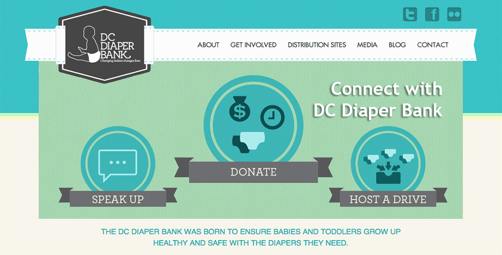 DC Diaper Bank connect slider image