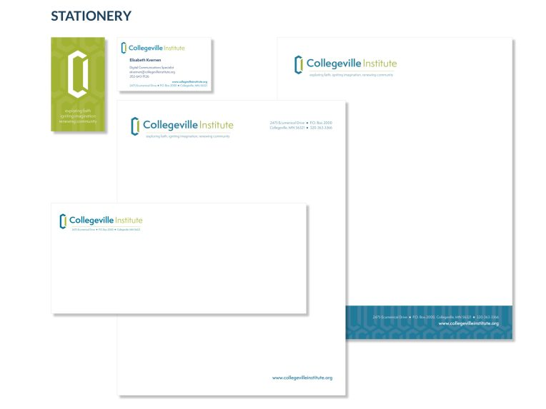 Collegeville Institute Stationery