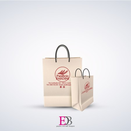 Shopper bag con stampa