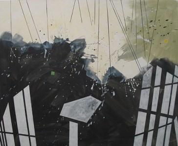 Gahro, Öl auf Leinwand, 140 x 170 cm, 2008