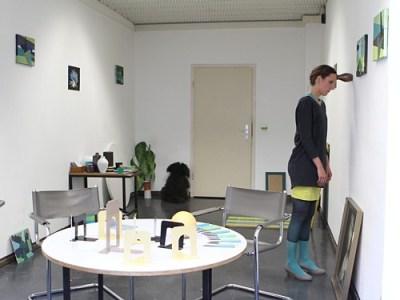 Was bleibt? Performance und Rauminstallation, 2010 (Foto: Sebastian Gabsch)