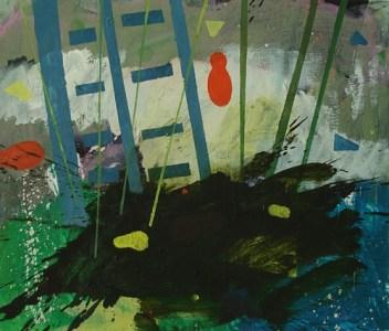 Gau, Öl auf Leinwand, 60 x 70 cm, 2009