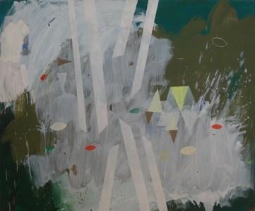 Garzin, Öl auf Leinwand, 100 x 120 cm, 2008
