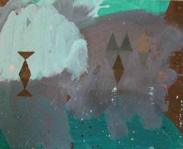Ruhl, Öl auf kaschierter Hartfaser, 24 x 30 cm, 2008