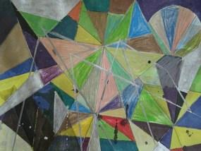Schwenow, Mischtechnik auf Papier, 21 x 29,7 cm, 2010