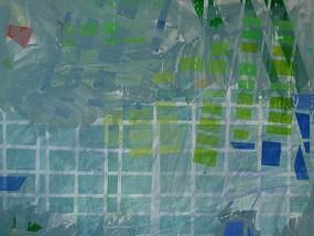 Wustrow, Acryl auf Leinwand, 140 x 170 cm, 2012