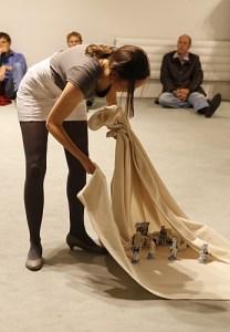Ungewohnt, Performance, 2011 (Foto: Edin Bajric)
