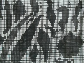 Bahren, Mischtechnik auf Papier, 21 x 29,7 cm, 2010