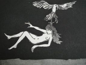 Ohne Titel, Aquatinta, 14 x 20 cm, 2010