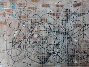 Gnewitz, Mischtechnik auf Papier, 21 x 29,7 cm, 2016