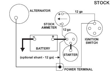 Amp Gauge Wiring Diagram With Shunt Circuit Diagram Wiring