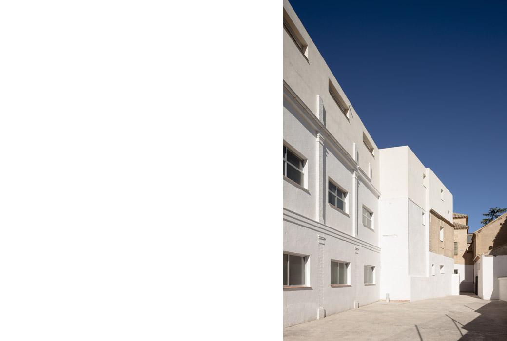 colegio de las Dominicas en Ogjares Granada  elisavalero