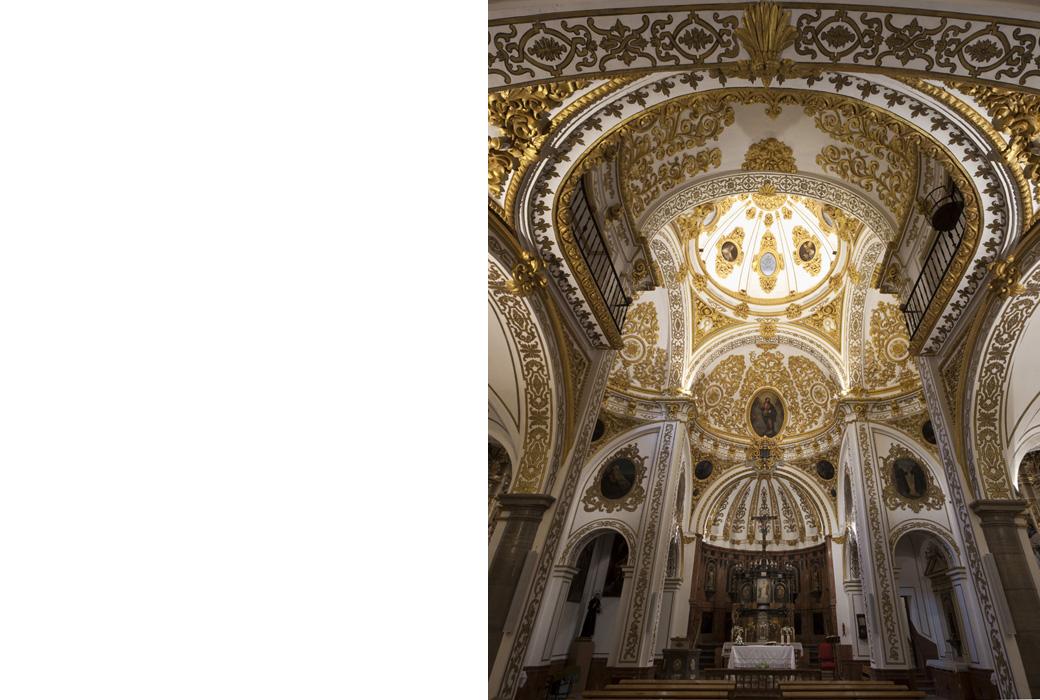 iglesia del Corpus Christi Granada  elisavalero