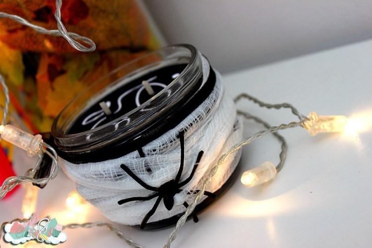 Chez Kelina créations - Bougies Halloween patchouli poivré- EliseandCO