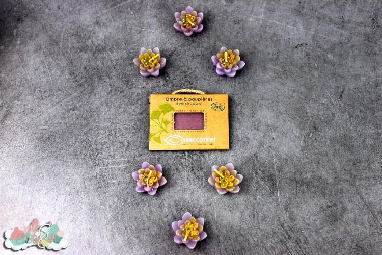 Unboxing Couleur Caramel - Fard à paupière - Blog Eliseandco