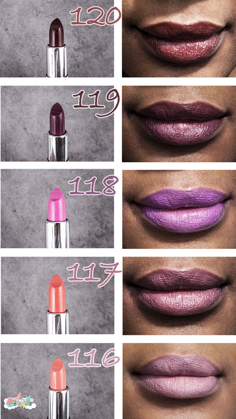 SWATCHES lèvres + raisin - Pro Lipstick Kit (Now Collection)