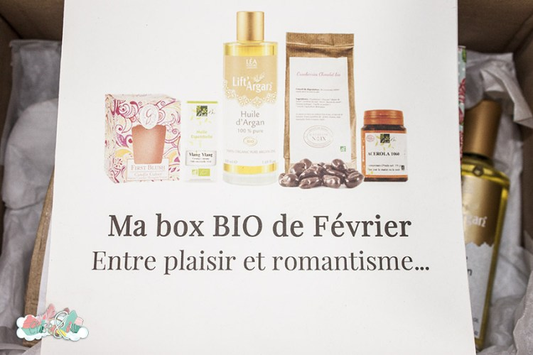 Box Belle au naturel - fêvrier 2016 - elise&co